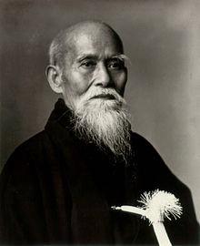 O Sensei Ueshiba Morihei